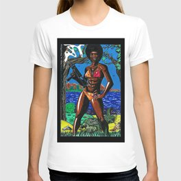Bad Girls of Motion Pictures #4 - Agent Rosie Carver T-shirt