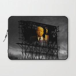 Trump Billboard Outside Blue Wave City .3 Laptop Sleeve