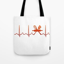 Baking Heartbeat Tote Bag