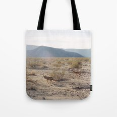 Panamint Valley Coyotes Tote Bag