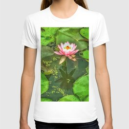 Waterlily and Lilypads T-shirt