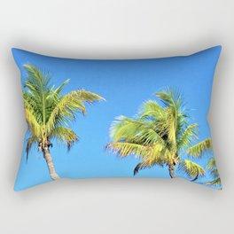 Bahamian Palms Rectangular Pillow