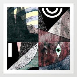 #006 Art Print