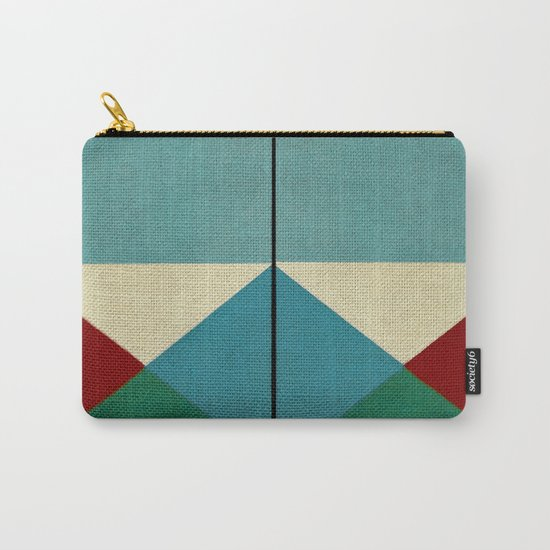 Geometric Thoughts 1 Carry-All Pouch