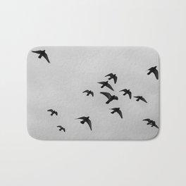 birds flying away Bath Mat