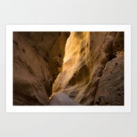 Canyon Walls Art Print