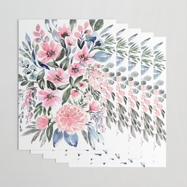 """Loose watercolor floral bouquet, """"Clara"""" Wrapping Paper"""
