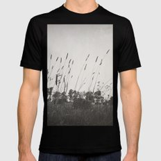 Dance in the Wind Mens Fitted Tee Black MEDIUM