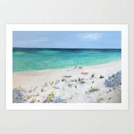 From the Dunes Art Print