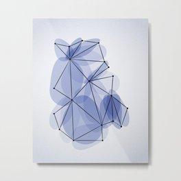 Origami 41 Metal Print