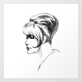 My Mama's Drawing 1968 Art Print