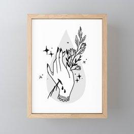 Witchy Framed Mini Art Print