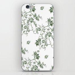 Penis Pattern GREEN iPhone Skin