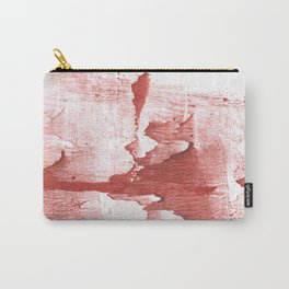 Indian red colored watercolor Carry-All Pouch