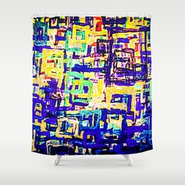 Vintage a life Shower Curtain
