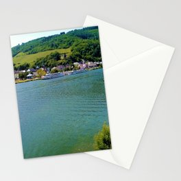 Moselle river Germany Stationery Cards