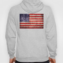 Antique American Flag Hoody