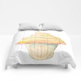 Ice Cream Yellow Comforters