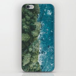Mystic Coastline iPhone Skin
