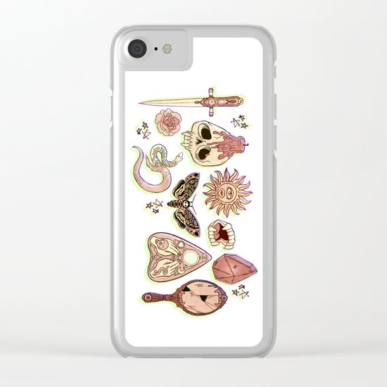 Whacky Wicca Clear iPhone Case