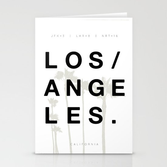 Los Angeles. Stationery Cards