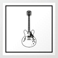 Gibson ES335 Art Print