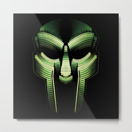 MF Doom - Vomit [3:33 Mix] Promo  Metal Print