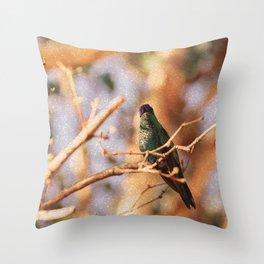Bird - Photography Paper Effect 003 Throw Pillow