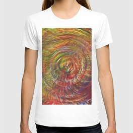 Waves of Trippy Grass T-shirt