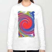circle Long Sleeve T-shirts featuring circle by Karl-Heinz Lüpke