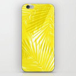Palms Yellow iPhone Skin