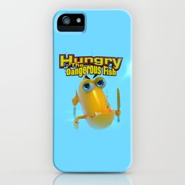 Hungry! The Dangerous Fish! iPhone Case