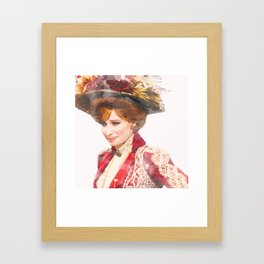 Hello, Dolly! - Barbra Streisand - Watercolor Framed Art Print