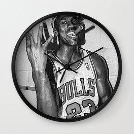 Michae-l Jordan Poster Wall Clock