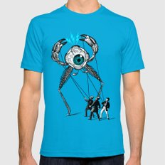 The Taming  X-LARGE Teal Mens Fitted Tee
