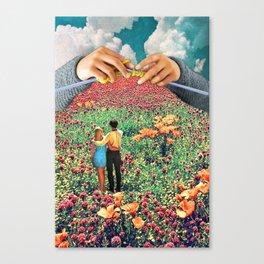 Neat Knitting Canvas Print