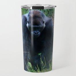 Gorilla On The Prowl Travel Mug