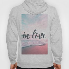 In Love on the beach Hoody