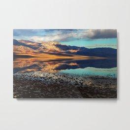 Death Valley - Badwater Basin Metal Print