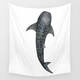 Whale shark for divers, shark lovers and fishermen Wall Tapestry