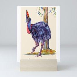 Cassowary Mini Art Print