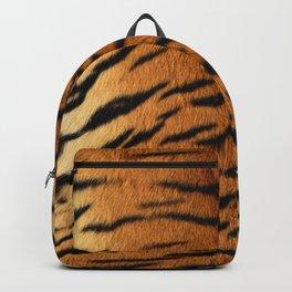 Faux Siberian Tiger Skin Design Backpack