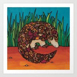 A Pangolin for Hope Art Print