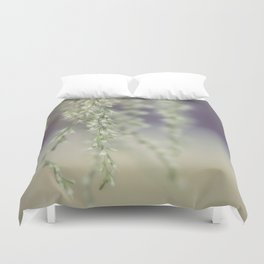 Little White Flowers Duvet Cover