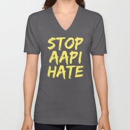 Stop AAPI Hate Unisex V-Neck