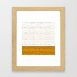 Coit Pattern 56 Framed Art Print
