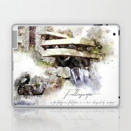 Falingwater Watercolor Laptop & iPad Skin
