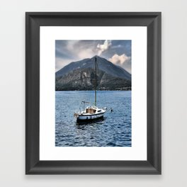 Rock Me On The Water Framed Art Print