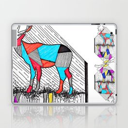 A wounded deer leaps the highest Laptop & iPad Skin