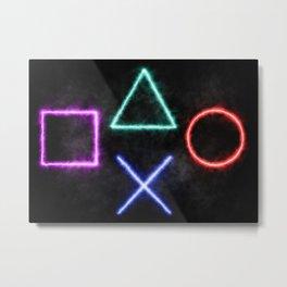 Playstation Metal Print